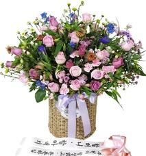 생신축하 꽃무리10