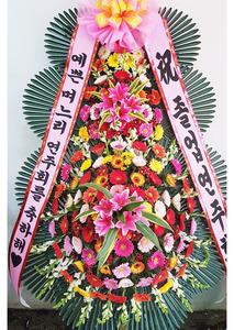 축하화환 수빈3단