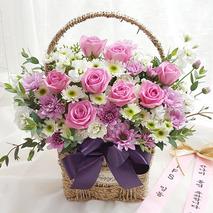 천사의 미소 꽃바구니배달